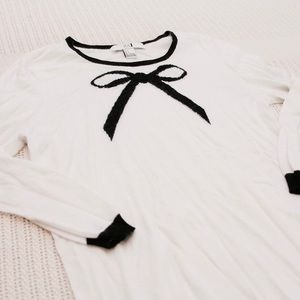 Forever 21 Ribbon Sweater